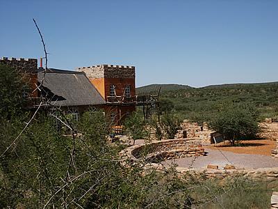 Terrasse mit Feuerplatz