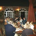 Dinner auf der Terrasse