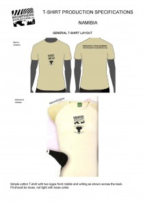 Biosphere Expeditions Shirt-Partner: OKAMBARA Elephant Lodge
