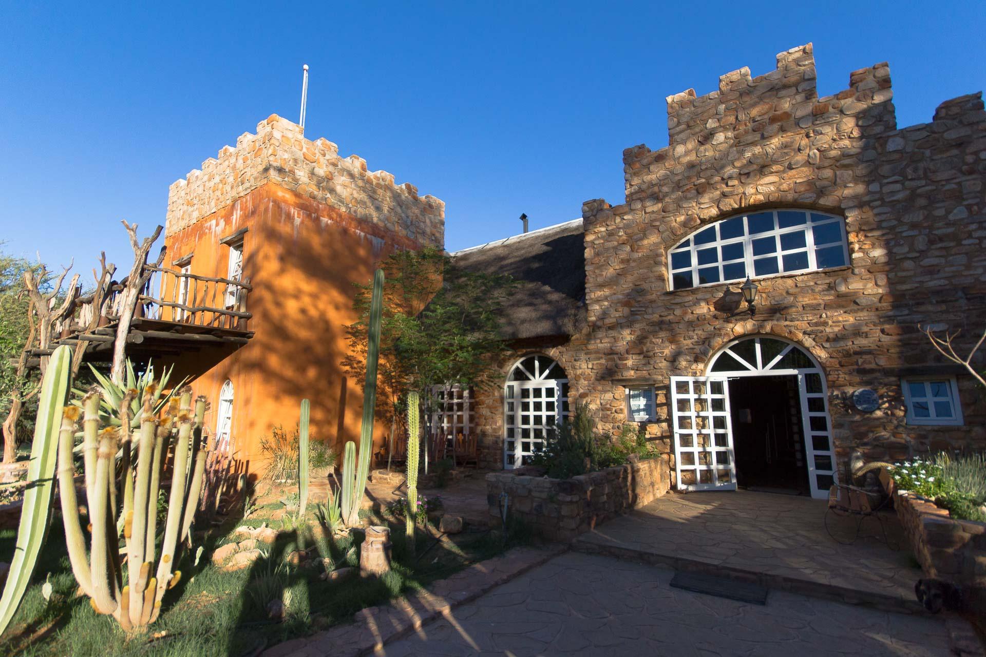 Das Haupthaus von außen